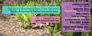 Lexington Hidden Treasures Weekend May 16, 2015