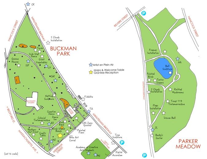 ARTS OFFROAD venue map
